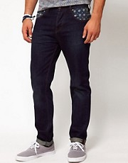 ASOS Slim Jean With Bandana Print
