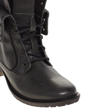 Image 2 ofASOS Foldover Military Boots