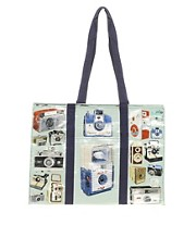 Blue Q &ndash; Cameras &ndash; Groe Shopper-Tasche