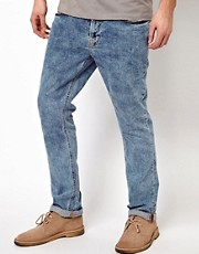 Nudie Jeans Thin Finn Skinny Fit Frosty Cloud Wash