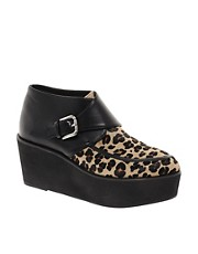 ASOS ANIMAL Flatform Ankle Boots