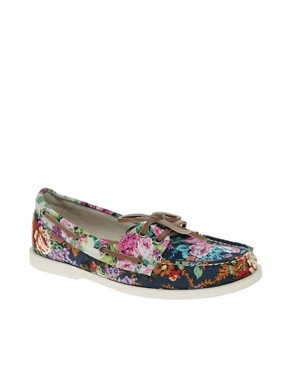 Image 1 ofALDO Chiou Floral Boat Shoes
