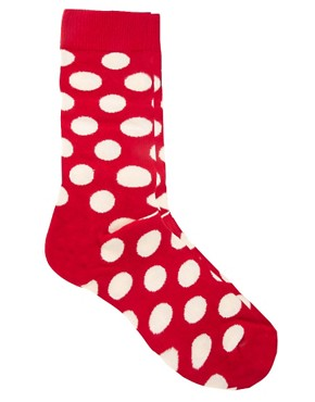 Image 1 ofHappy Socks Large Spot Socks
