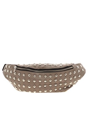 Image 1 ofJust Acces Exclusive to Asos Leather Bum Bag