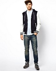 ASOS  College-Jacke mit Kapuze