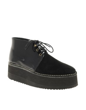 Image 1 ofSwear Nena 2 Black Flatform Ankle Boots