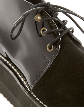 Image 3 ofSwear Nena 2 Black Flatform Ankle Boots