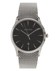 Sekonda Silver Watch with Mesh Strap