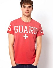 Camiseta con estampado Guard de Jack & Jones
