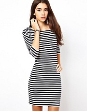 Only Stripe T Shirt Dress