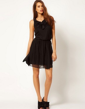 Image 4 ofASOS Mini Dress with Ruffle Front