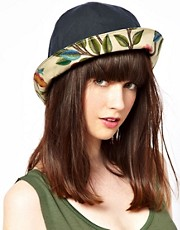 Barbour Summer Wax Cloche Hat