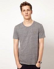 Esprit Pocket Marl Crew Neck T-Shirt