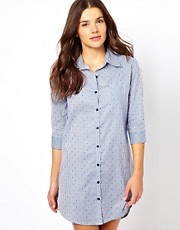 Esprit Woven Stripe Nightshirt