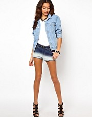 River Island Chelsea Girl Ombre Denim Short