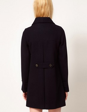 Image 2 ofSessun Palemberg Wool Pea Coat