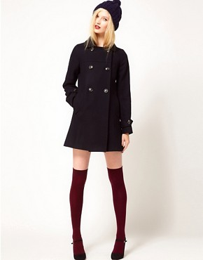 Image 4 ofSessun Palemberg Wool Pea Coat