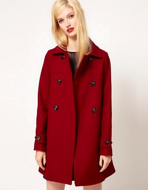 Image 1 ofSessun Palemberg Wool Pea Coat