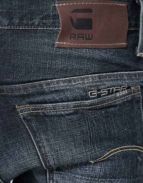 Image 4 ofG Star Jeans 3301 Slim Fit