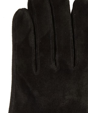 Image 2 ofDents Suede Leather Gloves