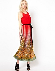 Beloved Taylor Maxi Dress with Tie Waist