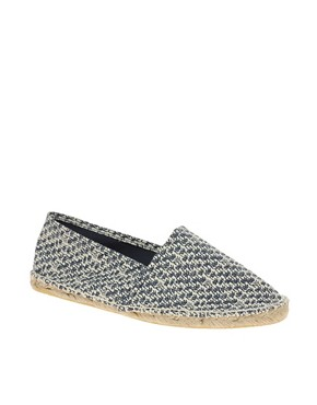 Image 1 of ASOS Palm Tree Print Espadrilles