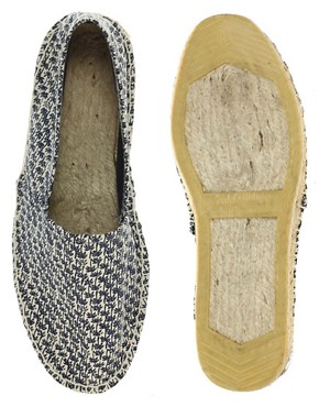Image 3 of ASOS Palm Tree Print Espadrilles