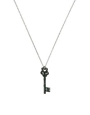 Image 1 ofBorn Macabre Key Necklace
