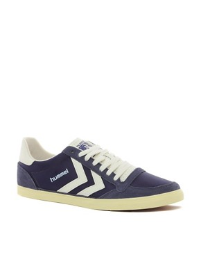 Image 1 ofHummel Stadil Retro Trainers