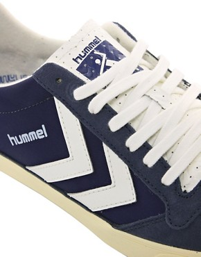 Image 2 ofHummel Stadil Retro Trainers