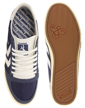 Image 3 ofHummel Stadil Retro Trainers