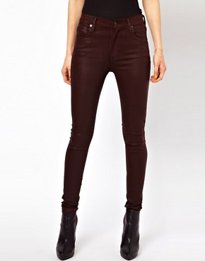 Image 4 ofCitizens Of Humanity Coated Skinny Jeans