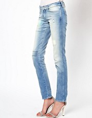 Wrangler Molly Repaired Skinny Jeans