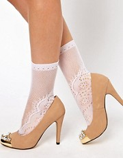 ASOS Ankle Sock In Lace