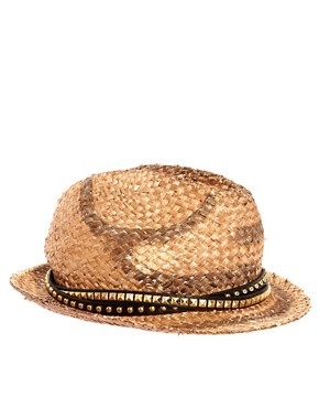 Bild 2 von River Island  Nietenbesetzter Trilby-Hut