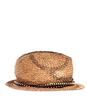 Bild 4 von River Island  Nietenbesetzter Trilby-Hut