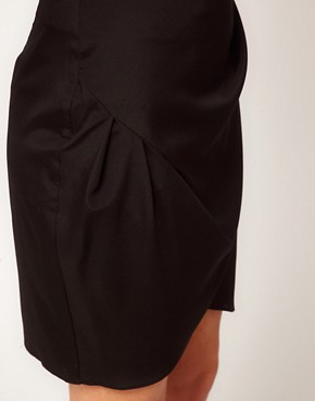 Image 3 ofASOS Wrap Skirt In Crepe