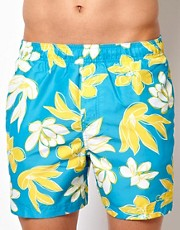 Calvin Klein Floral Swim Shorts