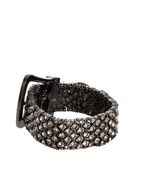Image 2 ofLove Rocks Crystal Belt Bracelet