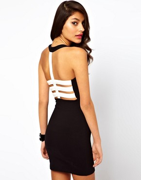 Image 1 of Motel Robyn Dress With PU Back