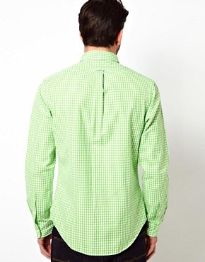 Image 2 ofPolo Ralph Lauren Shirt in Slim Fit Oxford Stripe