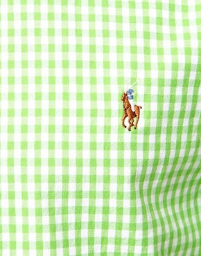 Image 3 ofPolo Ralph Lauren Shirt in Slim Fit Oxford Stripe