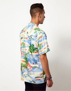 Image 2 ofParadise Found Florida Hawaiian Shirt