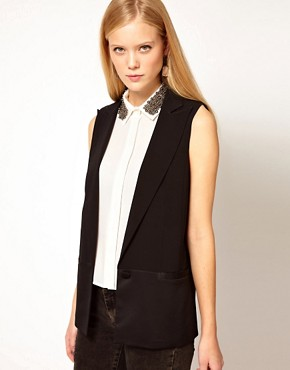 Image 1 of ASOS Tailored Vest