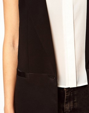 Image 3 of ASOS Tailored Vest