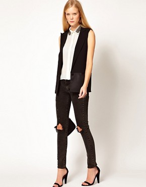 Image 4 of ASOS Tailored Vest