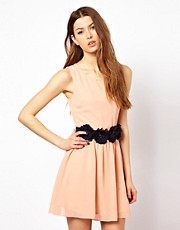 Max C Dress With Rose Waist