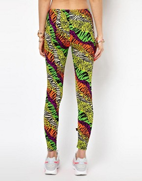Image 2 ofKuccia Animal Rave Print Legging