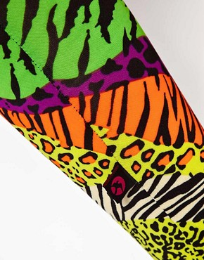 Image 3 ofKuccia Animal Rave Print Legging