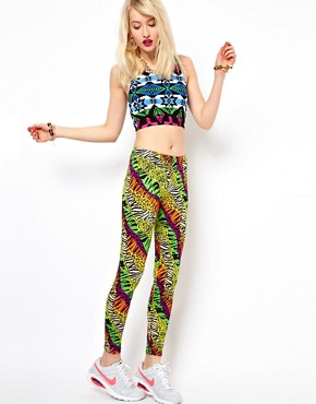 Image 1 of Kuccia Animal Rave Print Legging
